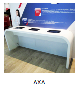 Mobilier commercial Axa