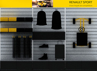 Mobilier commercial  Renault Boutique 2