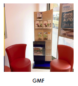 Mobilier commercial GMF